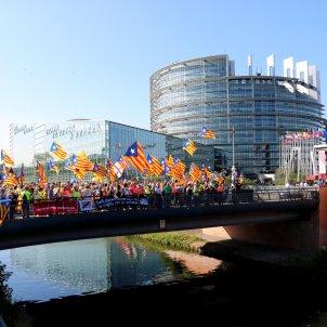ANC Manifestació Estrasburg Parlament Europeu - ACN