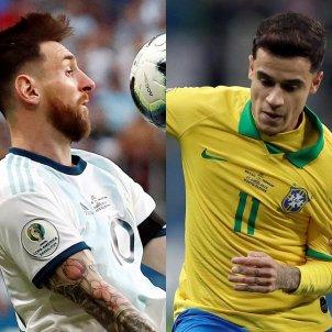 Messi Coutinho EFE