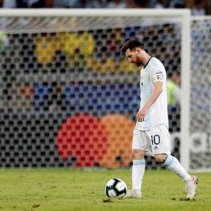 Messi Argentina Brasil Copa America EFE