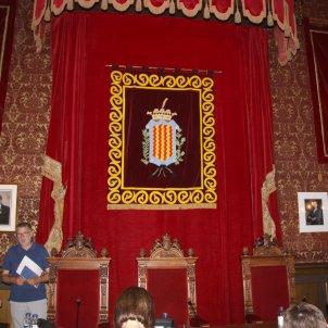Saló plens Tarragona escut ciutat ACN