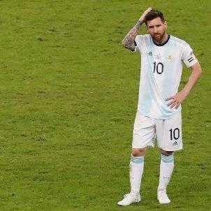 Messi sol Argentina Brasil Copa America EFE