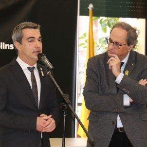 Alcalde Molins de Rei i Quim Torra ACN
