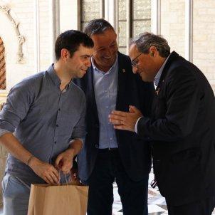 President Quim Torra reunio AMI Generalitat - ACN