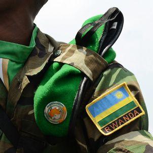 Soldat Ruandés i assessor de la USAF