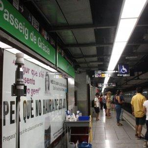 Amiant metro Barcelona - ACN