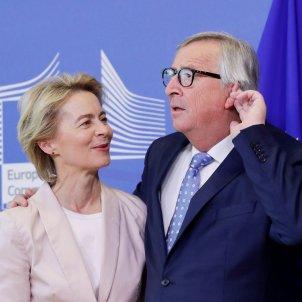 Jean-Claude Juncker Ursula Von der Leyen Comissió Europea - Efe