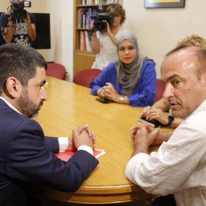 Chakir El Homrani alcalde masnou jaume Oliveras - acn
