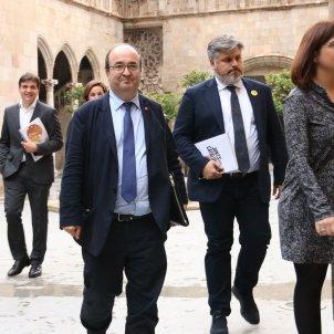 Iceta, Batet i Sabrià Generalitat - ACN