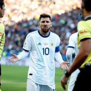 Messi Argentina Xile Copa Amèrica EFE