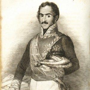 el general cabrera 1845 gravat obra de buenaventura de cordoba font wikimedia commons