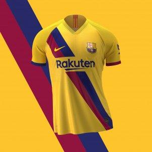 Samarreta groga Barça FC Barcelona