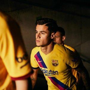 Coutinho samarreta groga Barça FC Barcelona