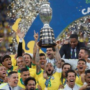 Dani Alves capita Brasil Copa America EFE