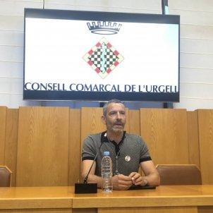 Gerard balcells ERC consell comarcal Urgell