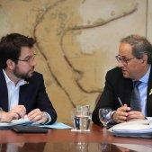 Torra i Aragonès reunió Govern - Jordi Bedmar