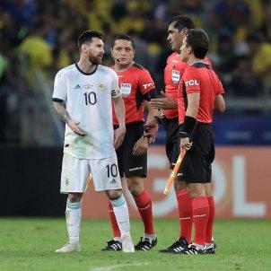 Leo Messi Robby Zambrano Argentina EFE