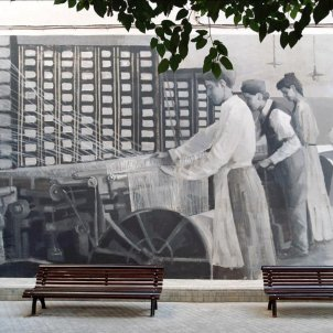 mural hospitalet aigüesdebarcelona