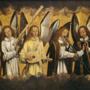 Àngels músics, Hans Memling (ca 1480)