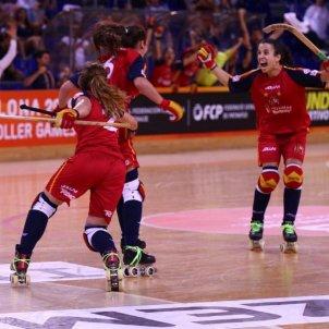 Hoquei patins selecció espanyola femenina World Roller Games @polbenach