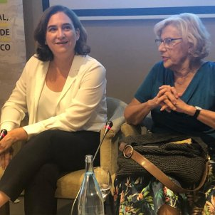Colau CArmena dialegs Barcleona Amdrid - Marina Fernàndez