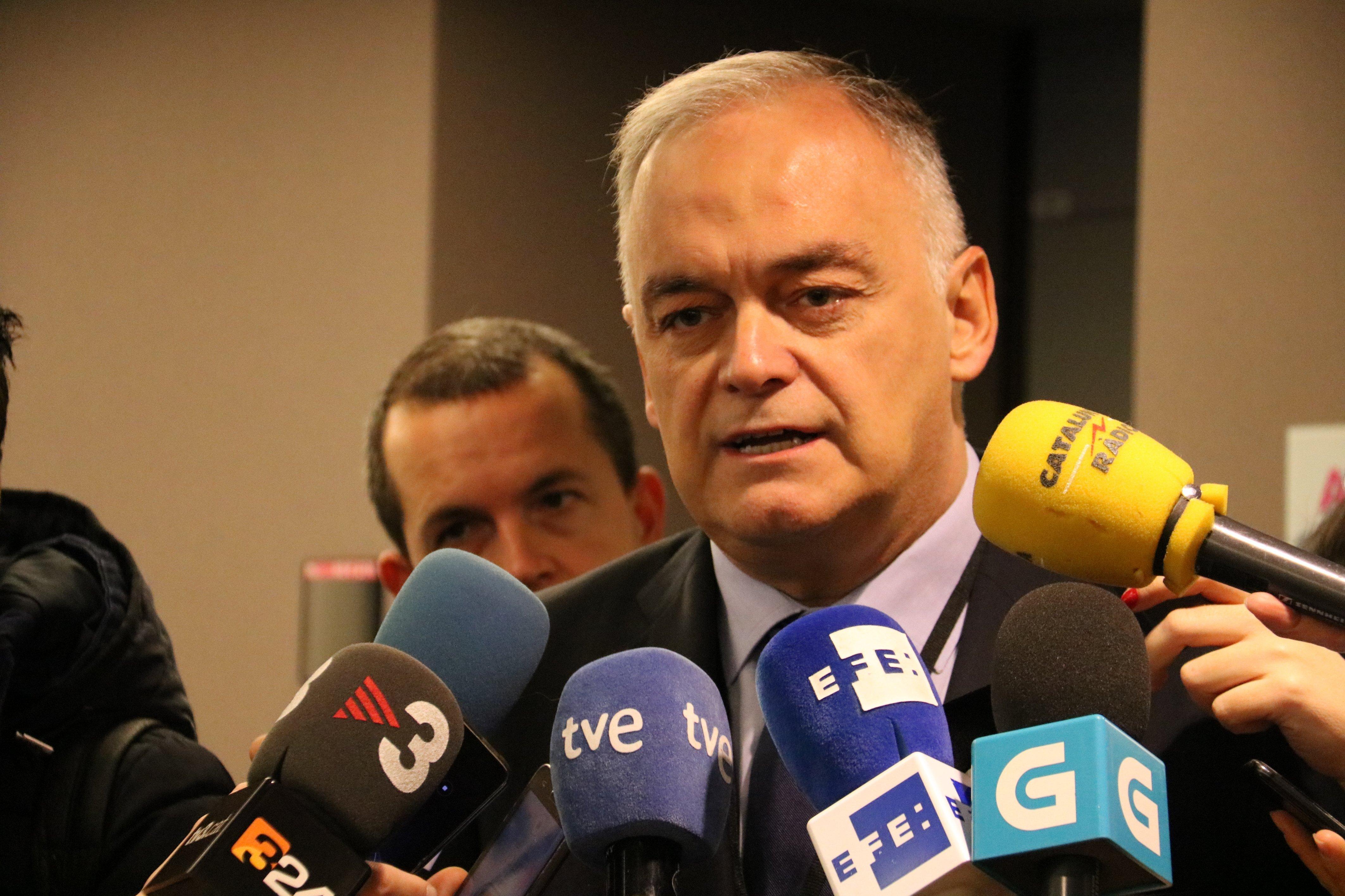 El cap de files del PP a l'Eurocambra, Esteban González Pons acn