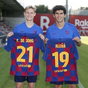 De Jong Aleñá dorsals Barça FC Barcelona