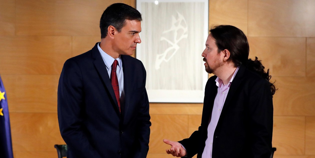 Pedro Sánchez Pablo Iglesias Reunió 9 Juliol Efe