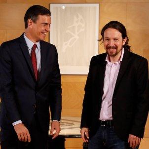 Pedro Sánchez Pablo Iglesias 9 juliol EFE