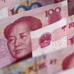 Yuan billete CC