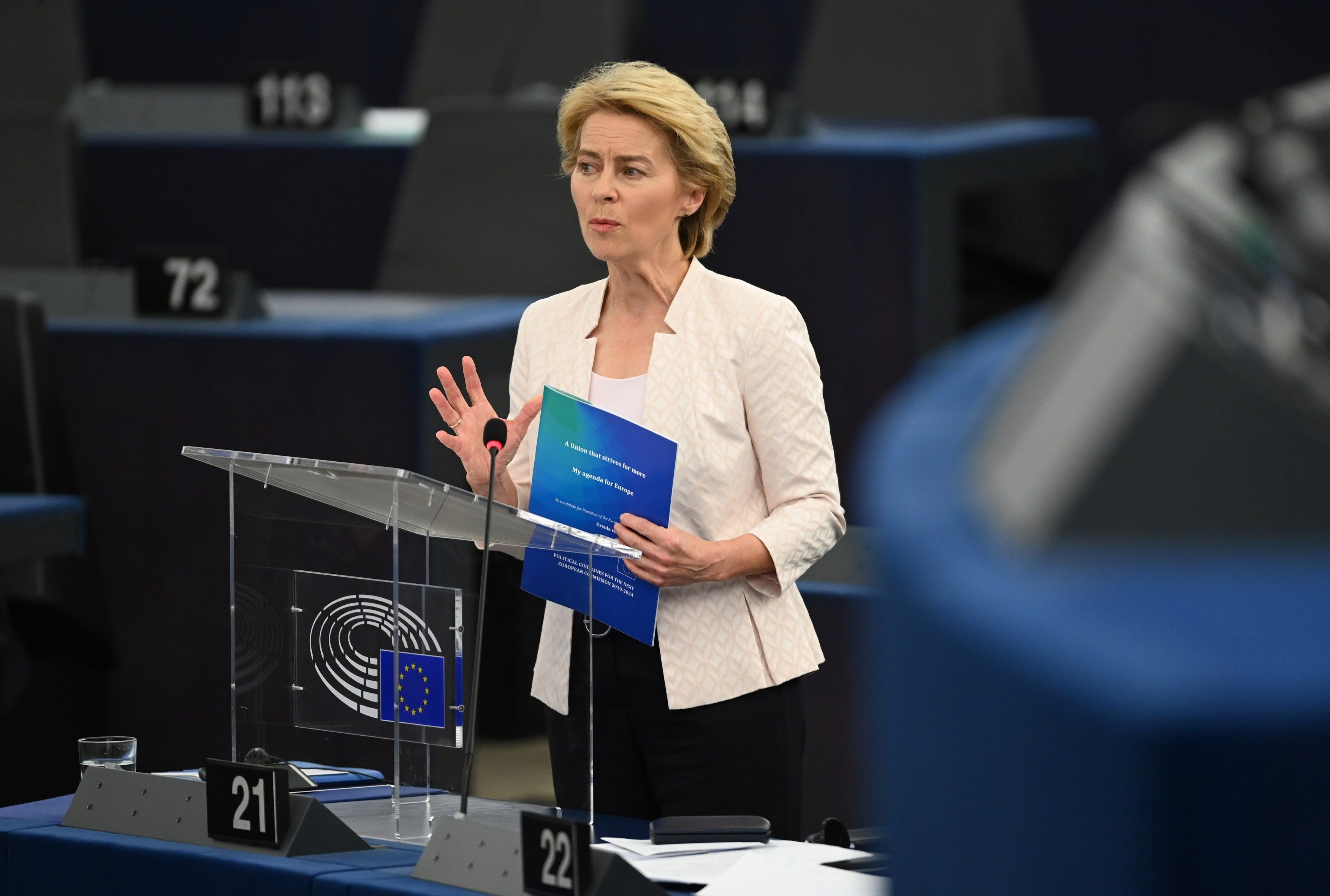 Ursula von der leyen Comissio europea - efe