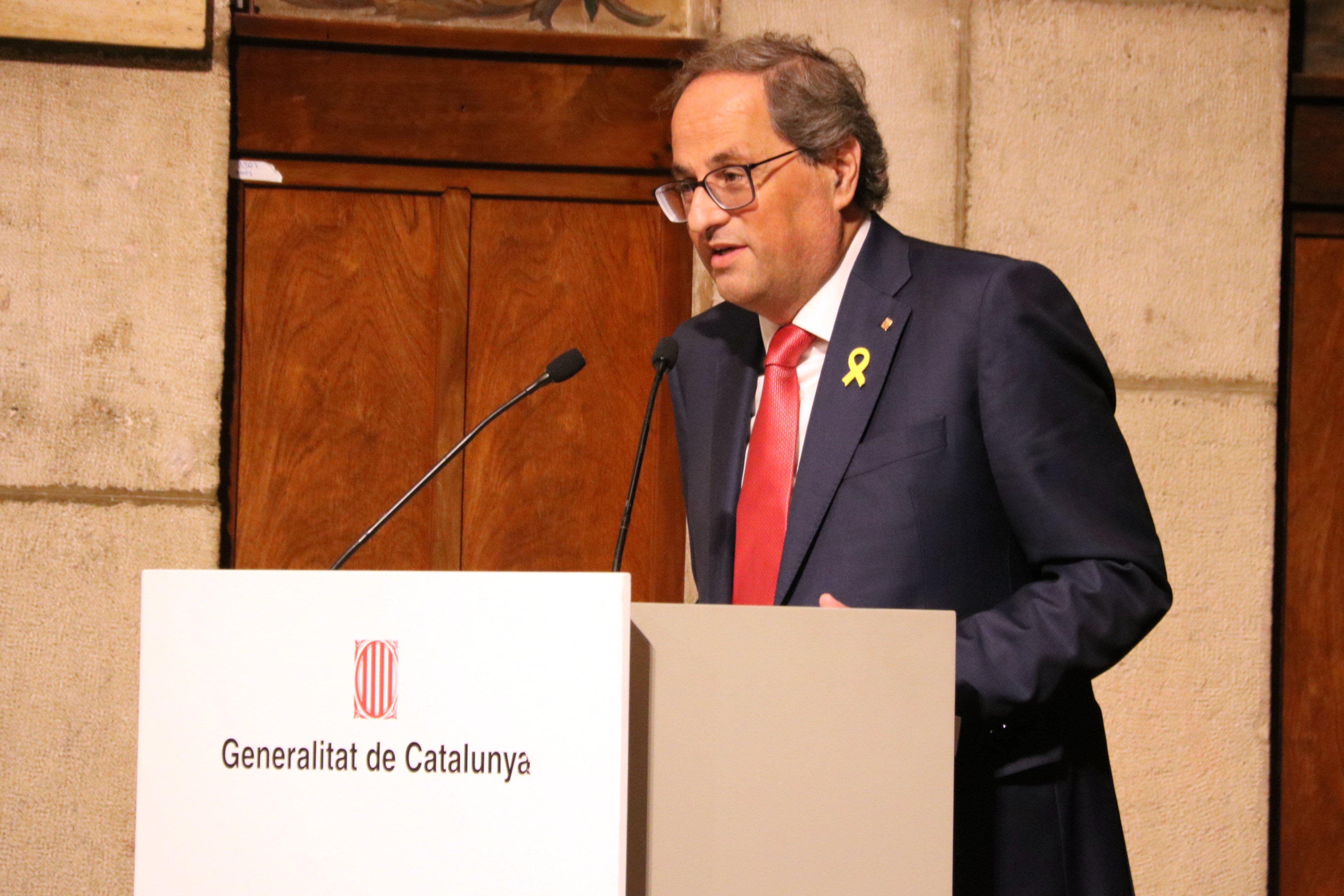 President Generalitat Quim torra - ACN
