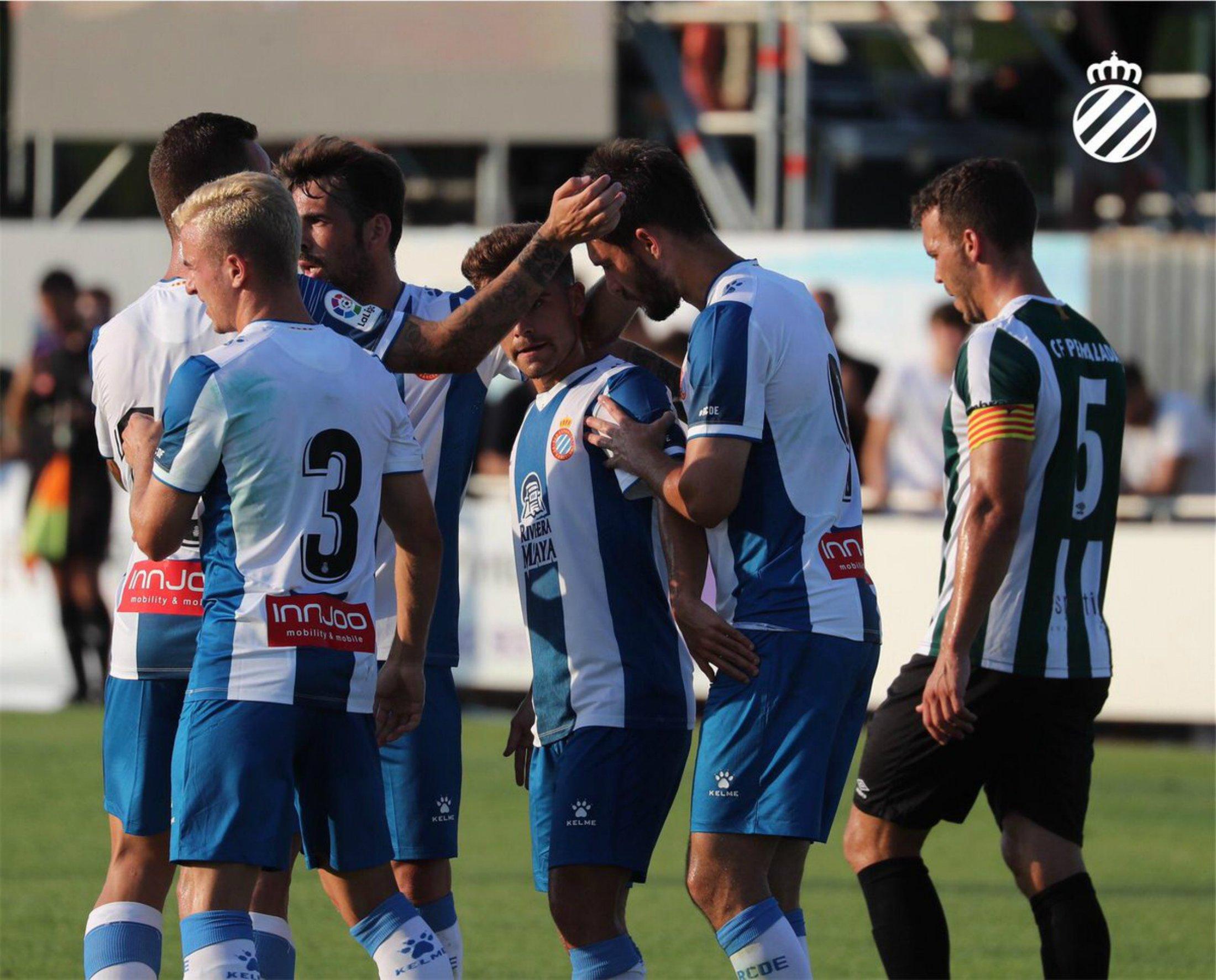 Melendo Espanyol Peralada pretemporada @RCDEspanyol