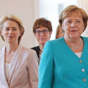 Angela Merkel Ursula Von der Leyen AKK alemania - Efe