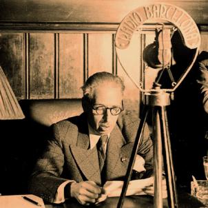 Detenen ultradretans que preparaven el cop d'estat. Locució del president Companys. Font Arxiu de Ràdio Barcelona