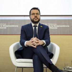Pere Aragonès Informe Economica de Catalunya - Sergi Alcàzar