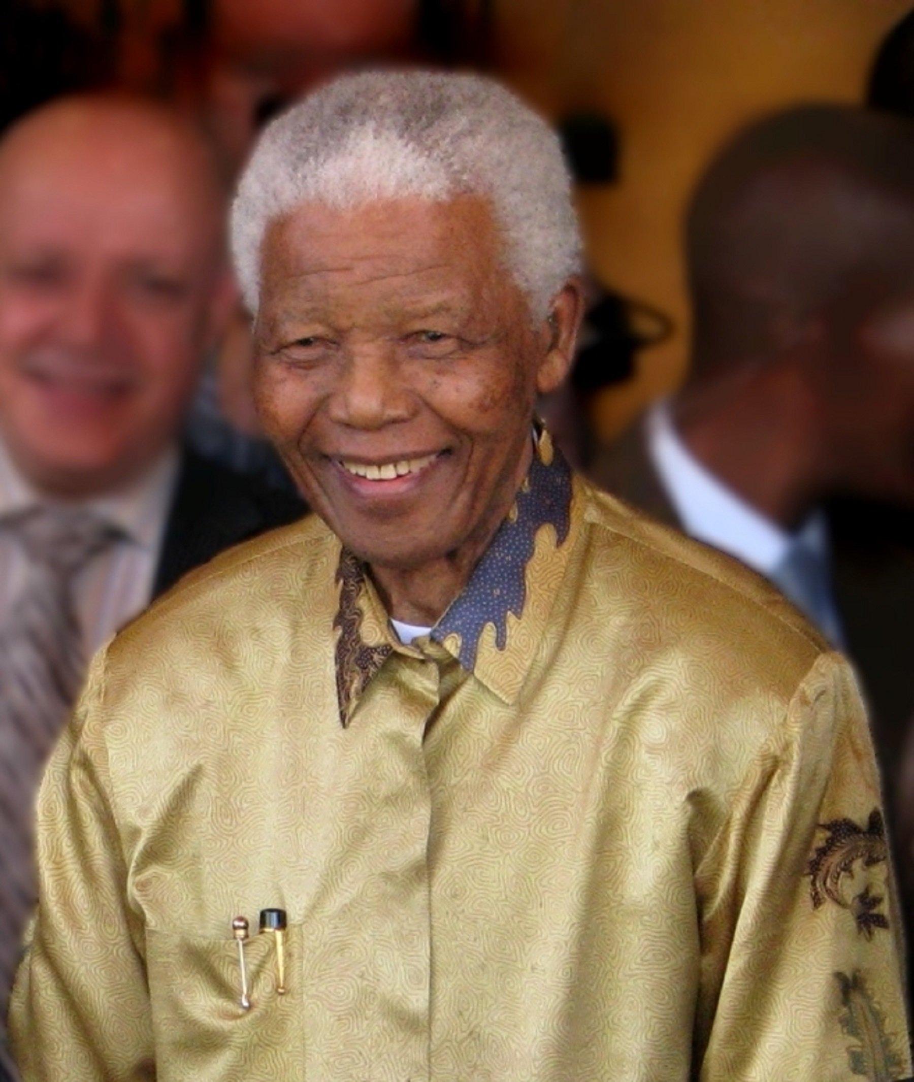 Nelson Mandela   Wikimedia Commons
