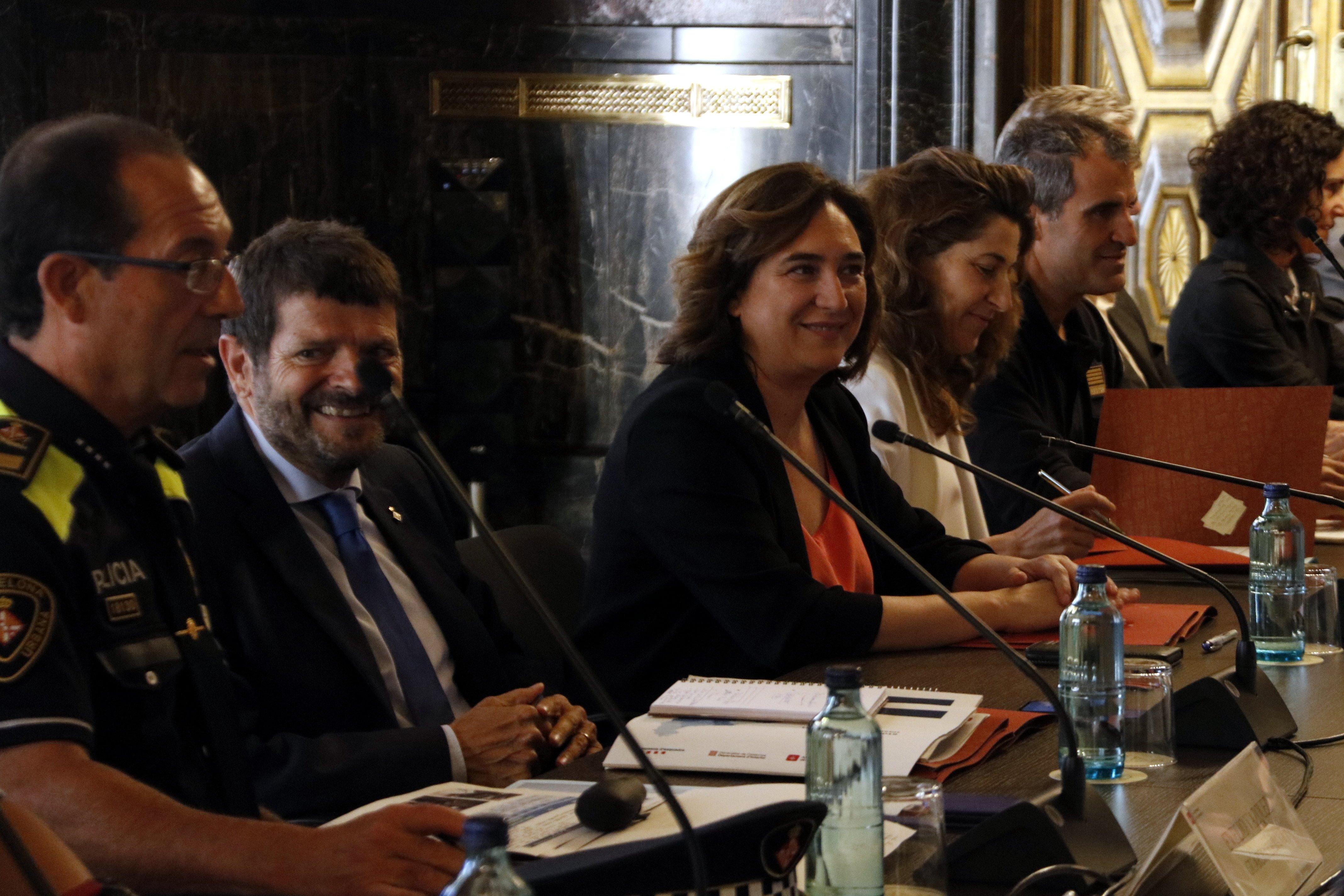Junta Seguretat Barcelona juliol 2019 / ACN