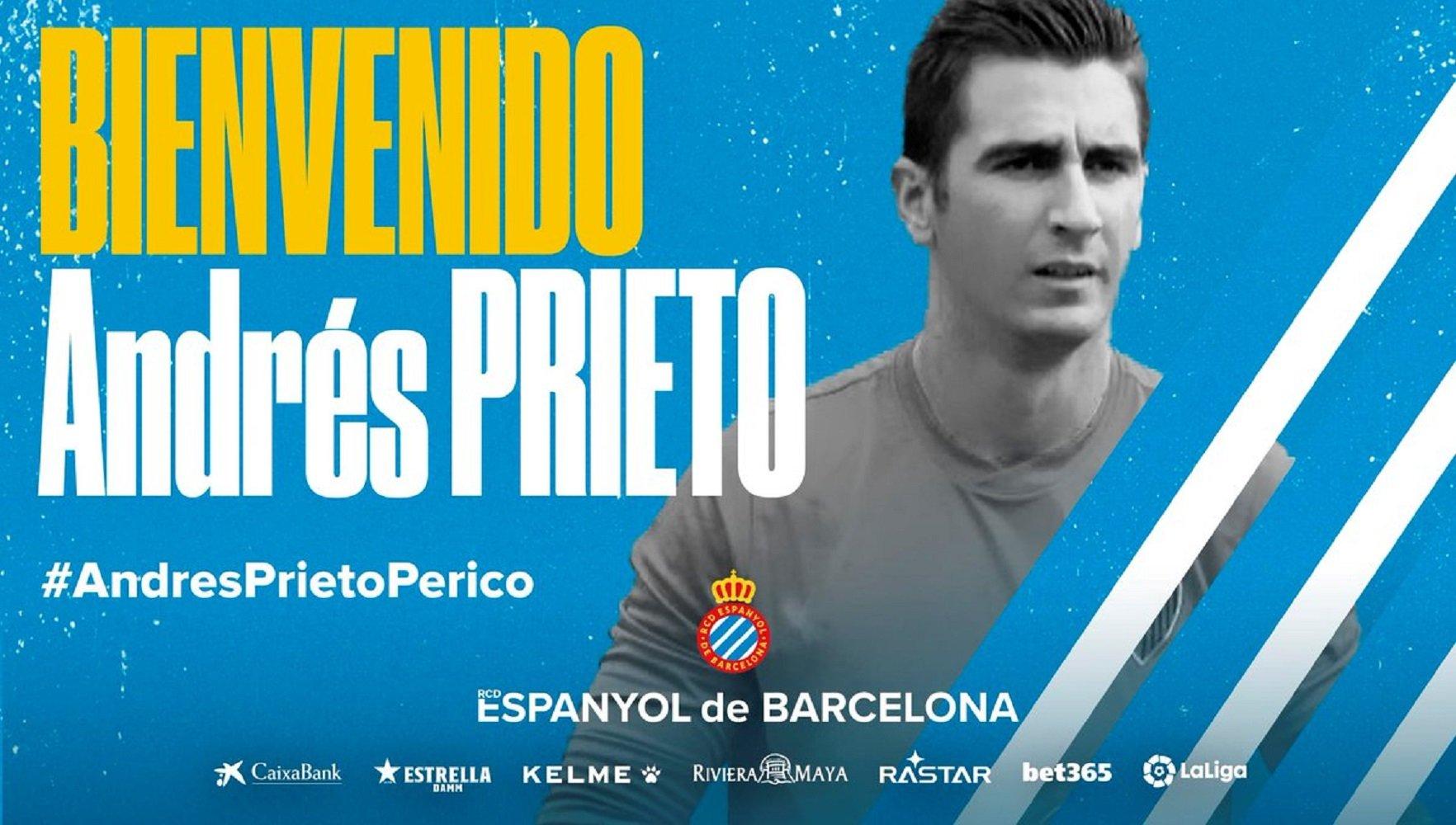Andrés Prieto RCD Espanyol