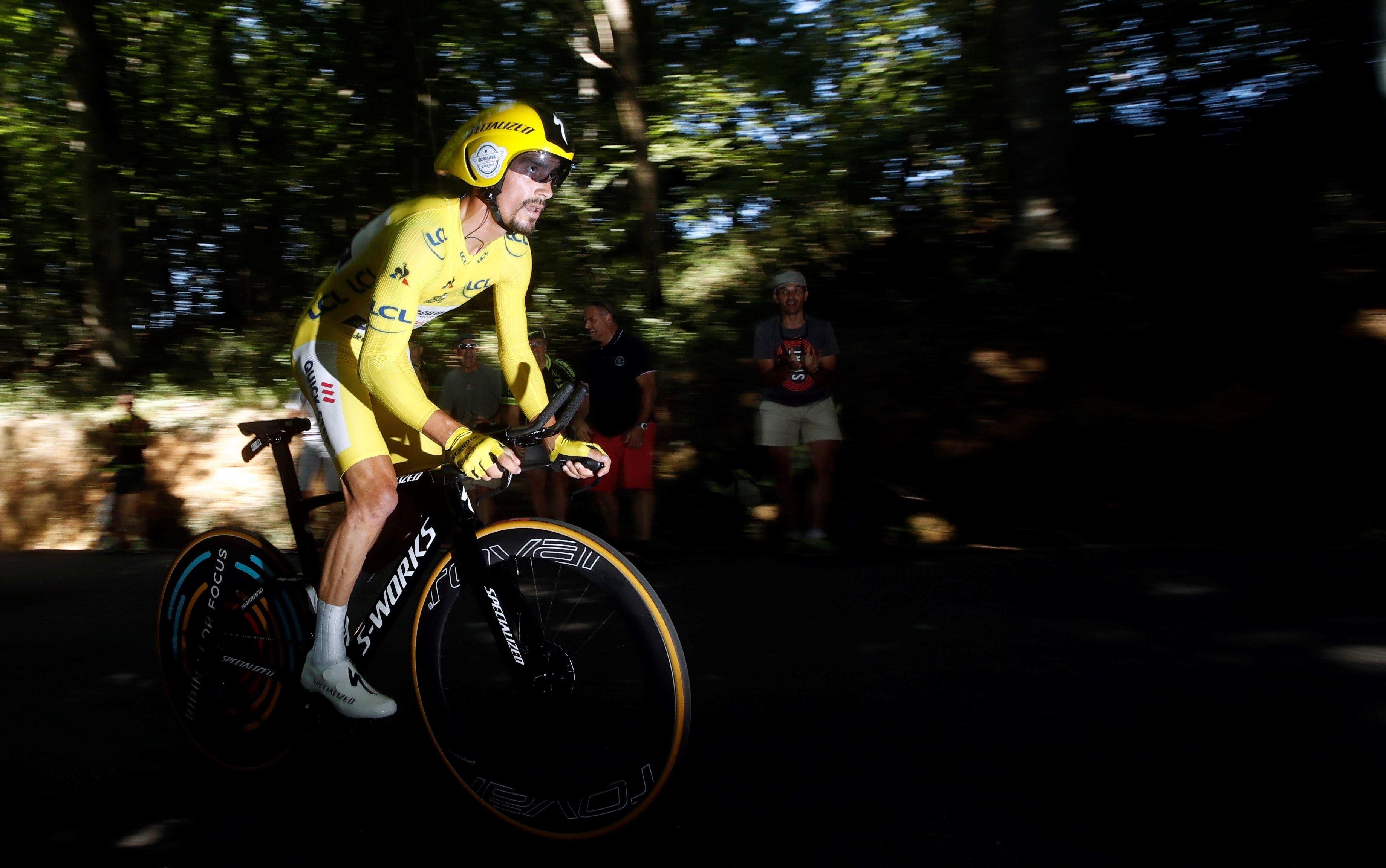 Julian Alaphilippe Tour França EFE