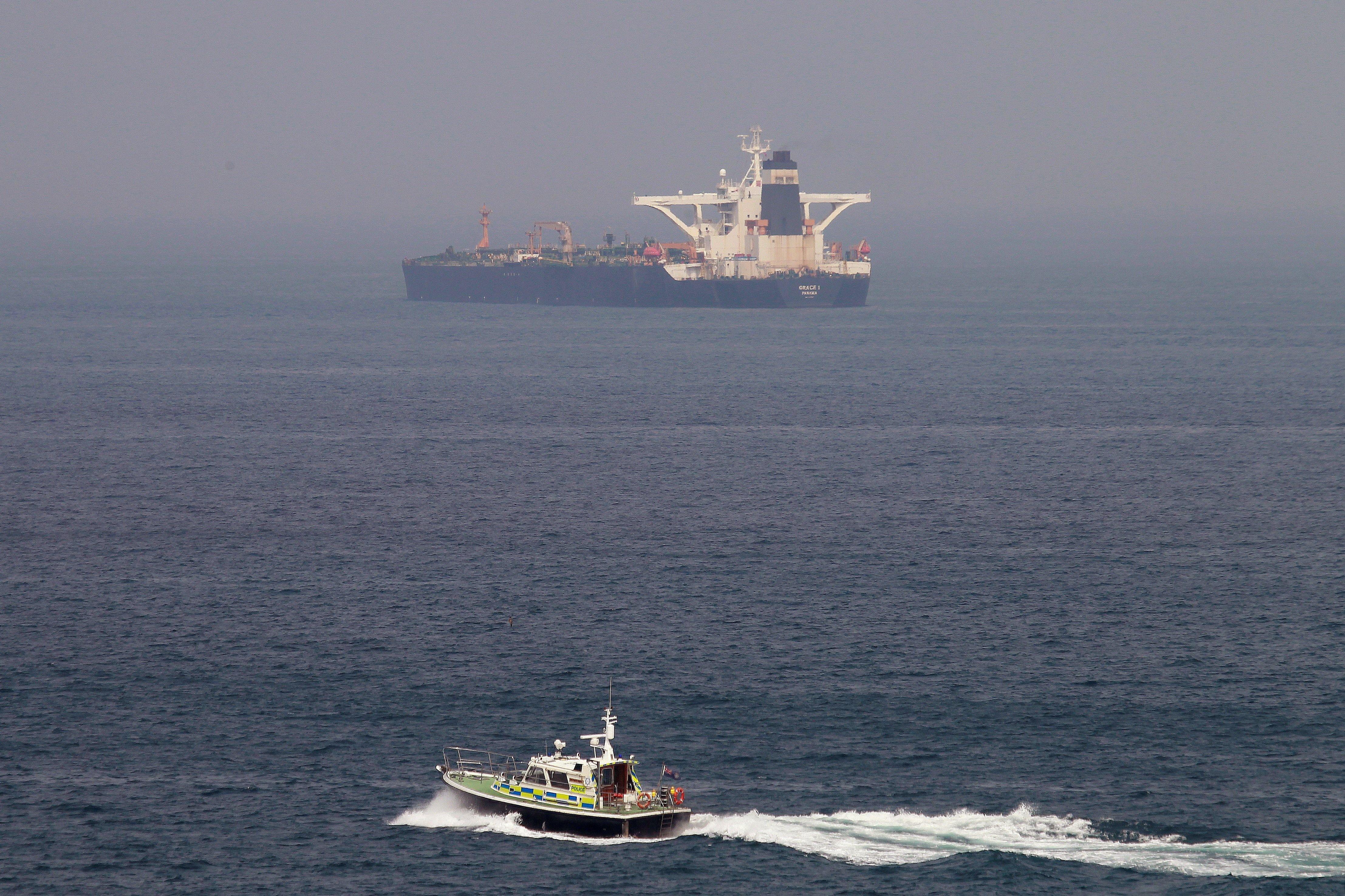 Petroler iran gibraltar - Efe