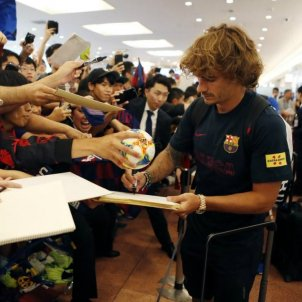 Griezmann arribada Japo Barca FC Barcelona