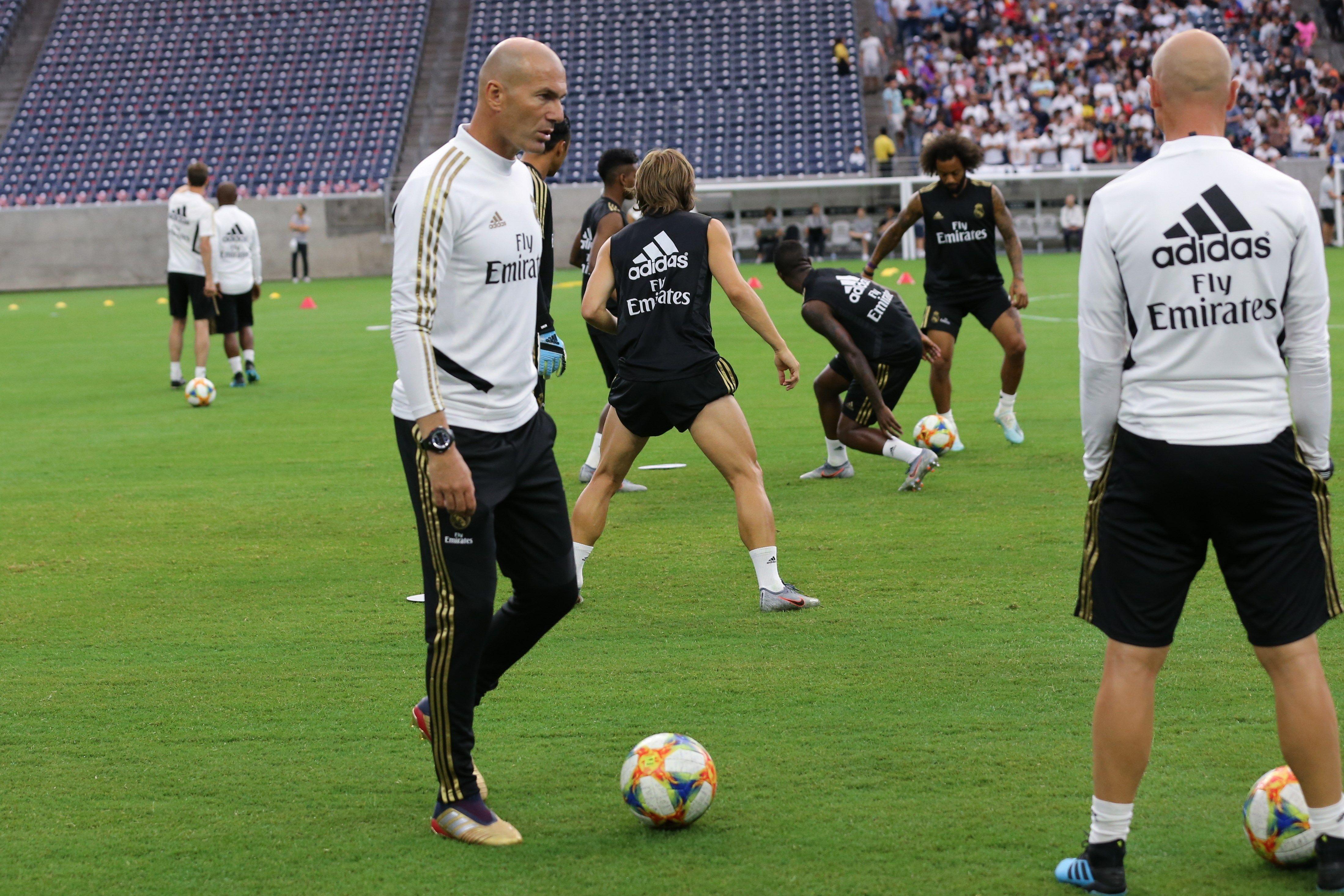 Zidane Reial Madrid pretemporada EFE