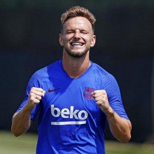 Ivan Rakitic entrenament Barça FC Barcelona
