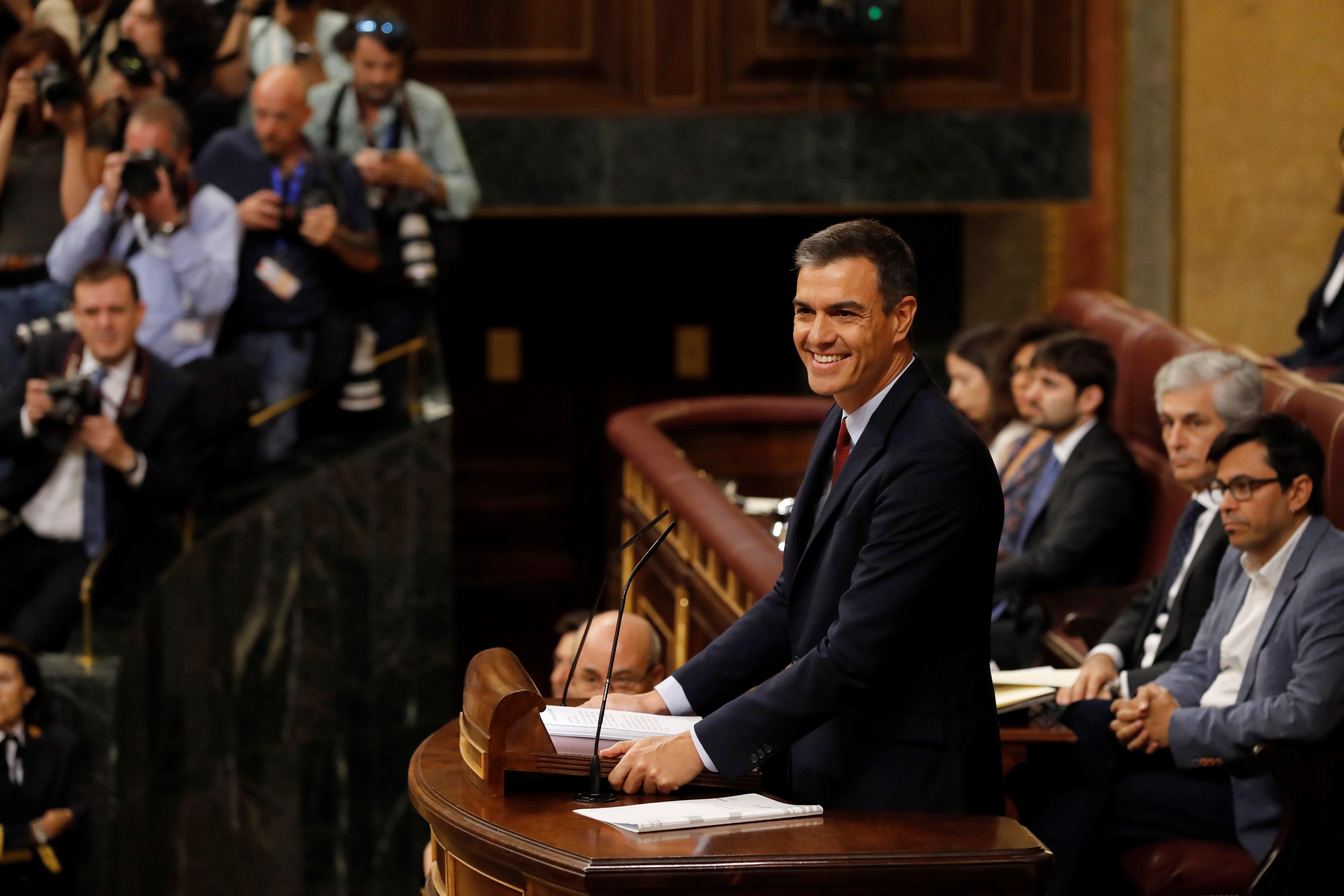 Pedro Sánchez investidura EFE