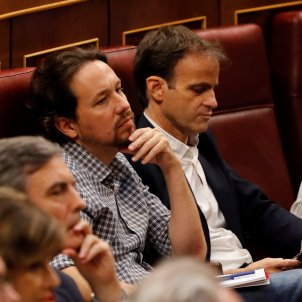 Iglesias Asens debat investidura EFE