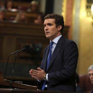 Pablo Casado debat d'investidura, EFE