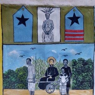 Quadre de Mabale. Col·lecció particular de Pepe Moctezuma