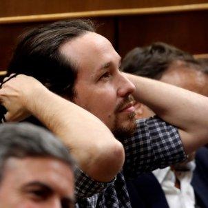 Iglesias Podemos debat investidura 2019 EFE