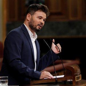 Gabriel Rufián segona sessió debat d'investidura EFE