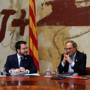 Govern Aragonés Torra juliol 2019 EFE